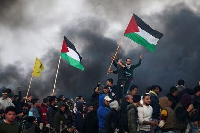 مشاعر فلسطينية مبعثرة