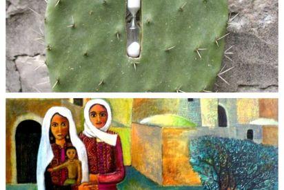 دلالات الصبار والزيتون في الفن التشكيلي الفلسطيني