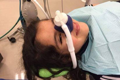 مع الغاز الضاحك...وداعا للخوف من طبيب الأسنان