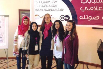 إذاعة نساء اف إم والأكاديمية الألمانية تنظمان مخيما شبابيا للإعلام