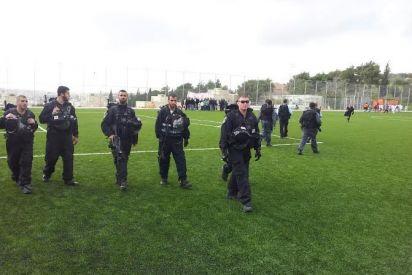 إسرائيل تشل حركة النهوض بكرة القدم الفلسطينية