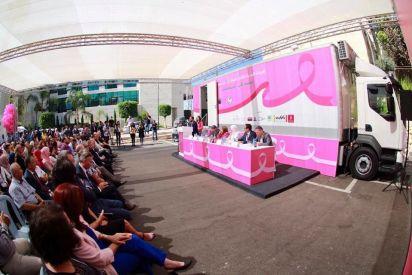 لأول مرة في فلسطين, عيادة متنقلة للكشف عن سرطان الثدي
