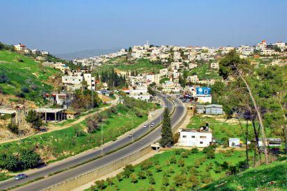 خدش بصري يحيط بمدينة الجنائن