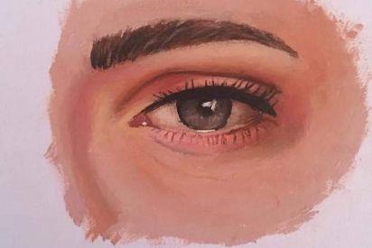 فنانة تشكيلية: تنتقل من الرسم على اللوحات إلى الرسم على الأعواد الخشبية