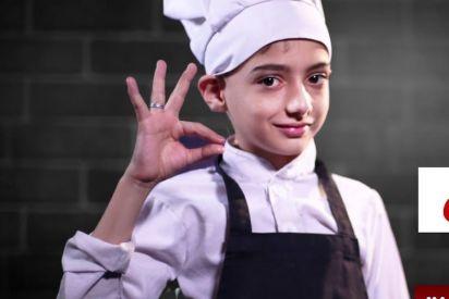 أصغر شيف فلسطيني طفل يحارب السرطان ويعدّ أطباقه باحتراف!