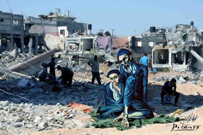 قصص معاناة الفنانين التشكيليين في غزة