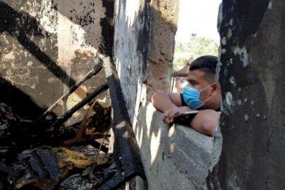 الشموع تطفئ الأمنيات في غزة