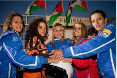 أخوات السرعة: أول فريق نسوي فلسطيني في سباق السيارات