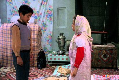 فيلم أطفال السماء... قلق زهرة وشغف علي