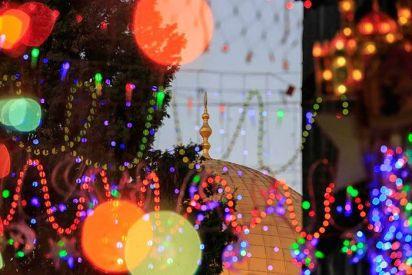 القدس تتزين احتفالا بشهر رمضان المبارك ....بعدسة عفيف عميرة